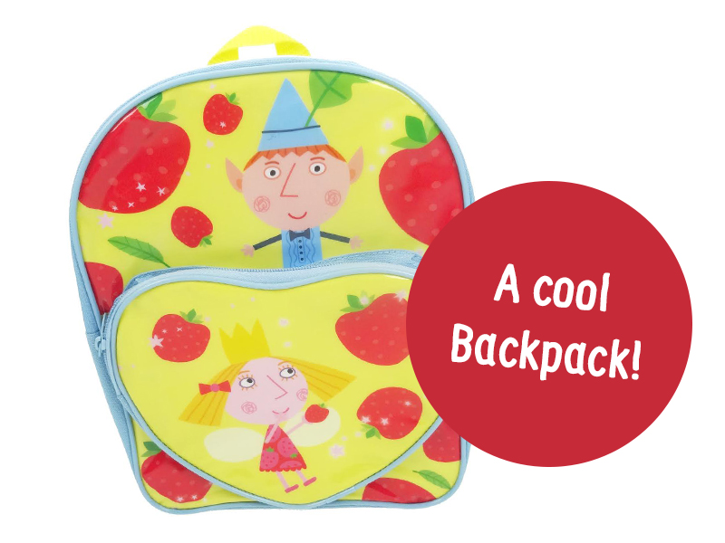 A cool Ben and Holly backpack!
