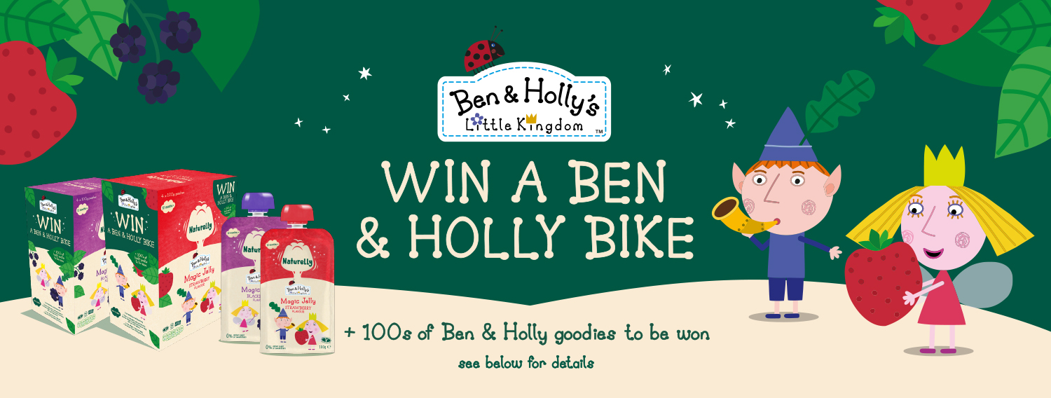 Win a Ben and Holly Bike! With Naturelly