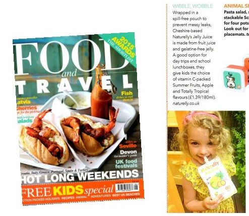 naturelly in Food travel magazine