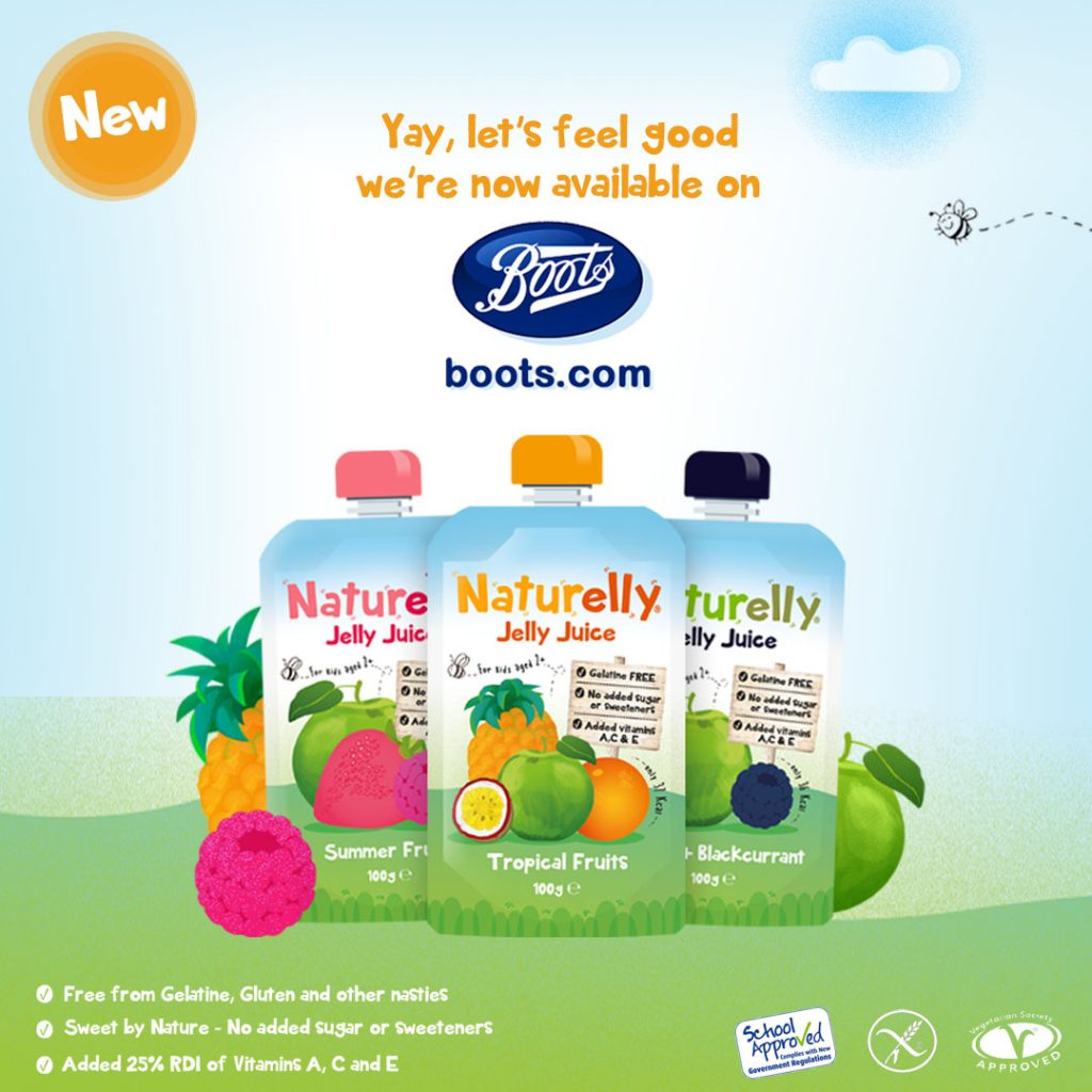 Naturelly in Boots