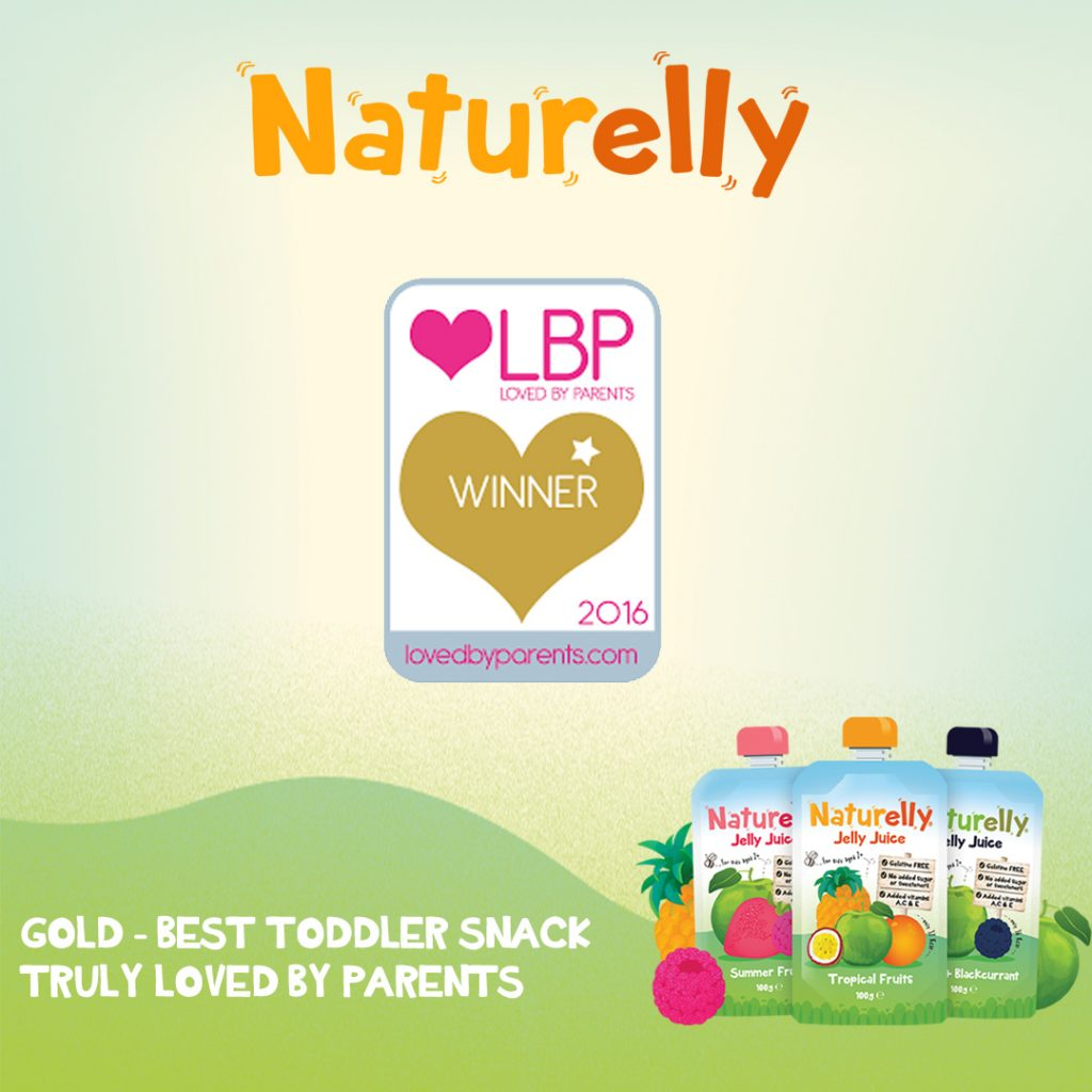 Naturelly Loved By parents Gold Award