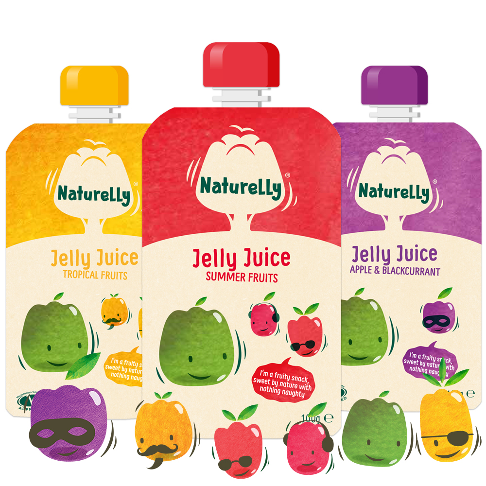 Naturelly Jelly Juice Variety Pack a healthy snack for kids