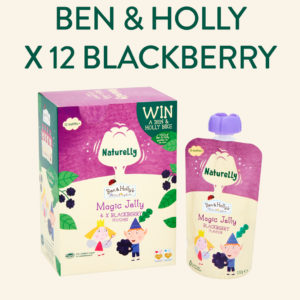 Naturelly Ben and Holly Magic Jelly Blackberry Pouches