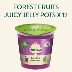 Naturelly Forest Fruits Vegan Jelly Pots