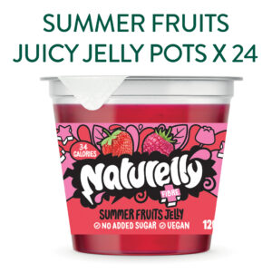Naturelly Summer Fruits Jelly Pots