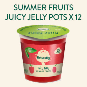 Naturelly Summer Fruits Vegan Jelly Pots