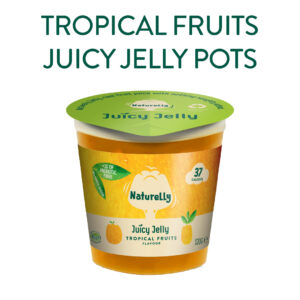 Tropical Fruits Vegan Jelly