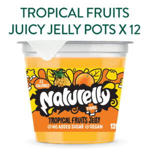 Naturelly Tropical Fruits Jelly Pots