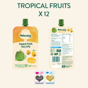 Naturelly Tropical Fruits Jelly Pouch