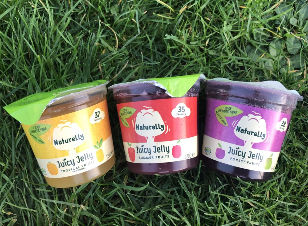 Naturelly Juicy Jelly Pots with added fibre from Inulin