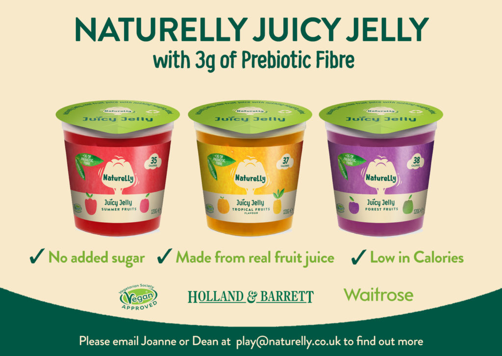 Naturelly Juicy Jelly with PreBiotic Fibre