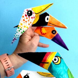 Naturelly Brilliant Fun for Kids Origami Birds